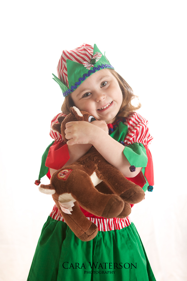 little elf and rudolph