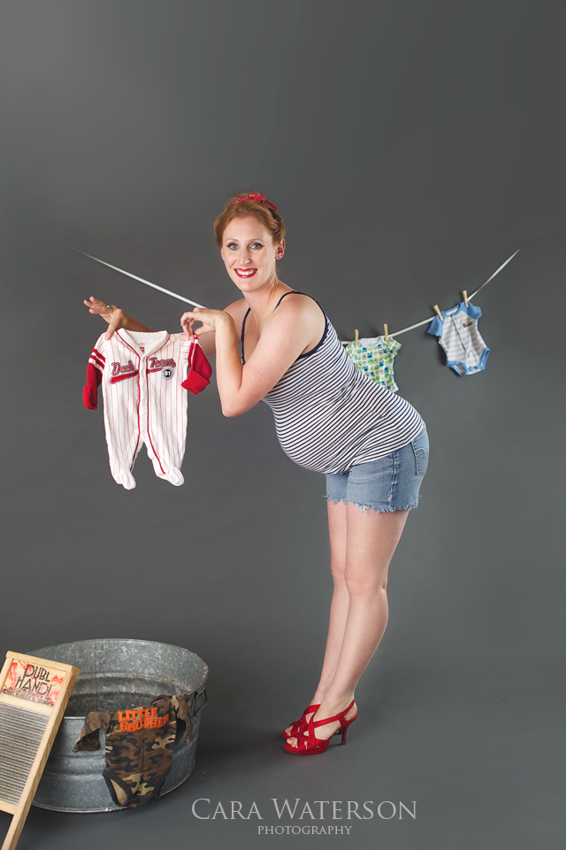 pinup maternity with onsie