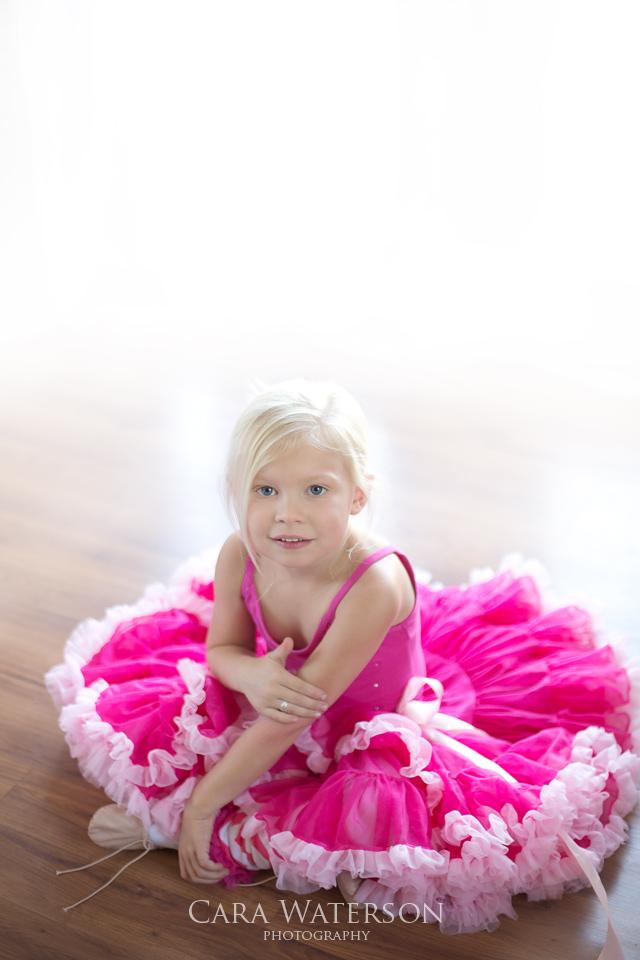 little blonde dancer