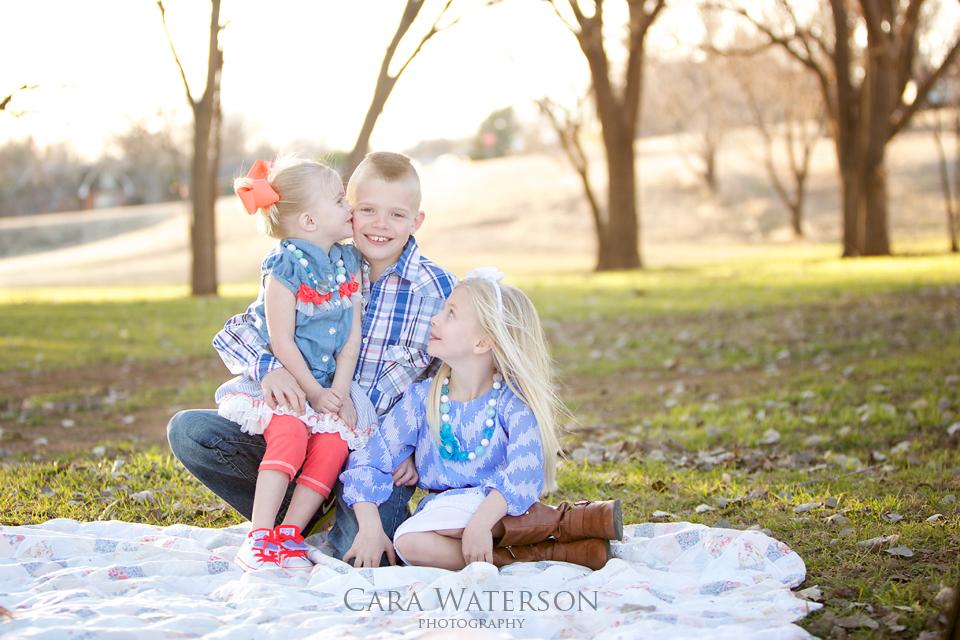 siblings in the park