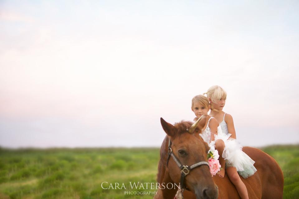 girls on a unicorn