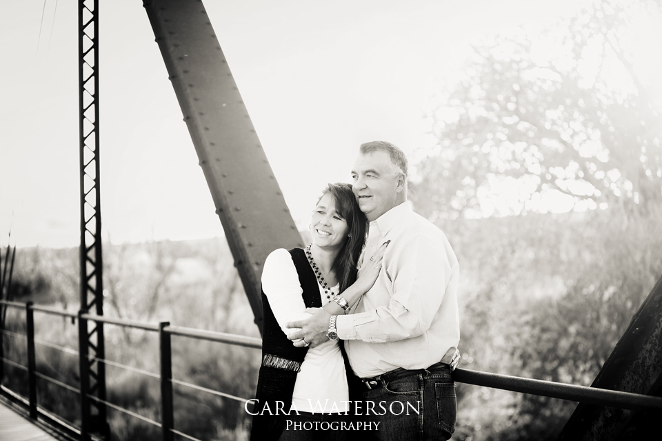 mom and dad bw